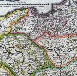 HOMANN JOHANN BAPTIST - Mapa Polski [wydanie pierwsze]