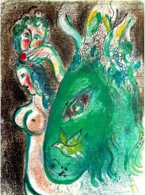 CHAGALL MARC Raj  [litografia]