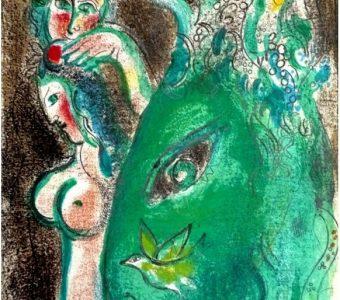 CHAGALL MARC - Raj  [litografia]