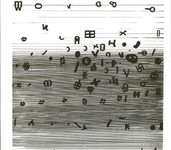 TARASIN JAN - Zapis [serigrafia, sygnowana]