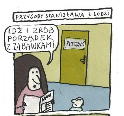 RACZKOWSKI MAREK Przygody Stanisława z Łodzi [rysunek sygnowany] 3