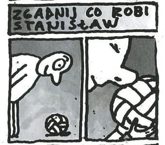 RACZKOWSKI MAREK - Przygody Stanisława z Łodzi [rysunek sygnowany] 1