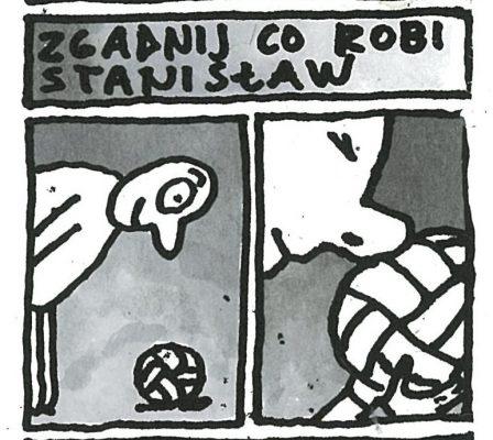 RACZKOWSKI MAREK Przygody Stanisława z Łodzi [rysunek sygnowany] 1