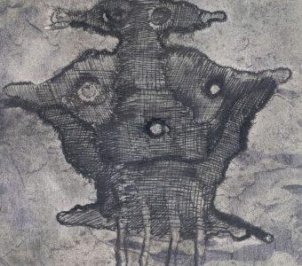 LEBENSTEIN JAN - Figura [tusz na papierze]