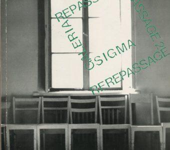 Repassage, Repassage 2, Galeria Sigma. Katalog wystawy 1993