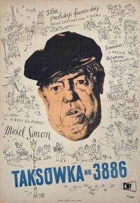 FANGOR WOJCIECH Taksówka nr 3886 [plakat]